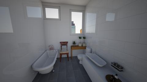 eclectic bathroom - Eclectic - Bathroom  - by lokneszikolbasz
