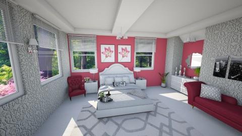 Bedroom 1 - Feminine - Bedroom - by yarah