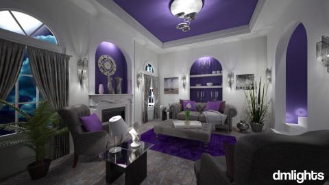Platinum Plum - Classic - Living room  - by LucretiaC