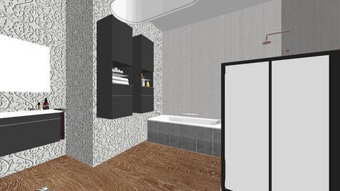 dustys baffroom - Bathroom  - by dustybun