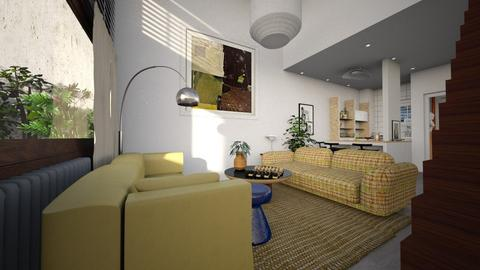 my flat - Eclectic - Living room - by marinmarin
