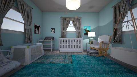 nursery - Modern - Kids room - by toxic chemical life