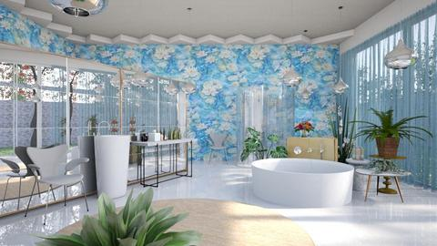 Water Lily Bathing Room - Modern - Bathroom  - by 3rdfloor