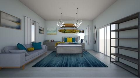 Surf House - Bedroom  - by cbruno23