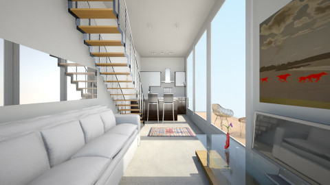 Container Home - Living room - by murphystaging