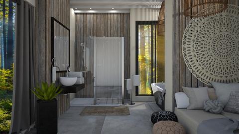 BOHO BATHROOM - Bathroom - by sillvie