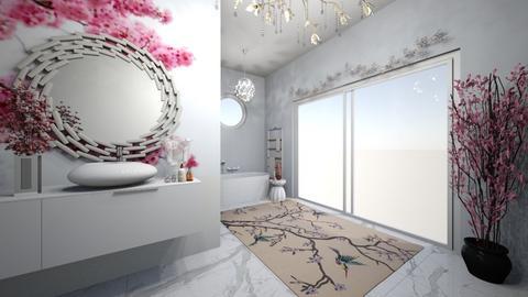 Cherry Blossom Bathroom - Bathroom  - by nothing77