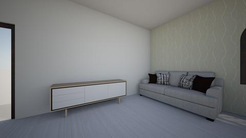 Sypialnia  - Modern - Bedroom  - by zuza0708