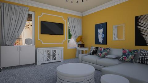 Ye Olden - Living room  - by emivim