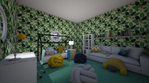 a readers bedroom - Kids room  - by CW THE HARRY POTTER FAN