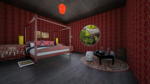 chinesestylebedroom - Bedroom - by Emma_04