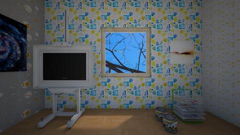 Creativity Room - by llama_555