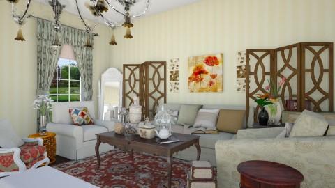 Memories - Vintage - Living room  - by megalia42