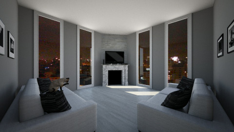 Grey Scale - Modern - Living room - by a1is0n