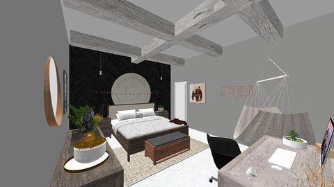 Bedroom Delux - Glamour - Bedroom  - by adfgijiofdfhjb