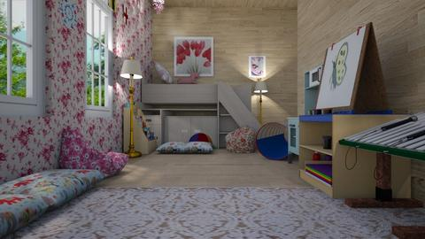Girl and baby bedroom - Kids room  - by WildandFree