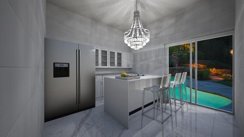 Dreamy Kitchen - Modern - Kitchen  - by Lulu12345678910