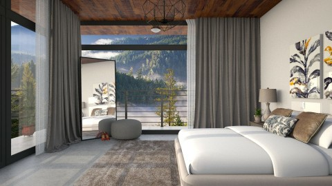 Serenity - Modern - Bedroom  - by DeborahArmelin