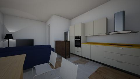 colentina ap 5 - Modern - Bedroom  - by ioanilinca