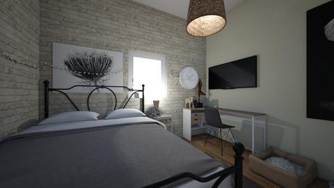 Minimalist Bedroom - Minimal - Bedroom  - by maddiebrauch