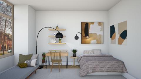 Scandinavian Bedroom - Minimal - Bedroom  - by Anu and Janu
