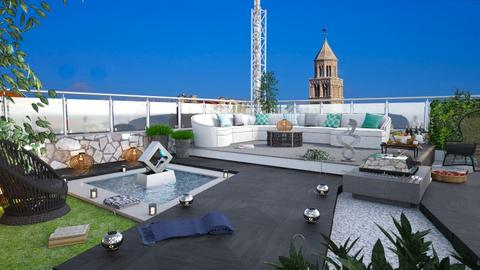 M_ Rooftop terrace Split - Garden  - by milyca8