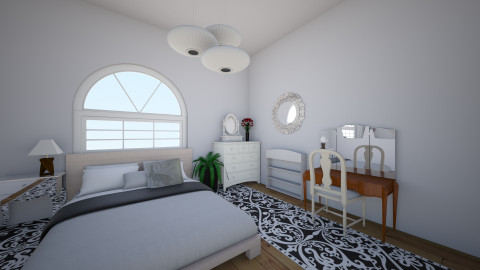 my room - Retro - Bedroom  - by magdastol
