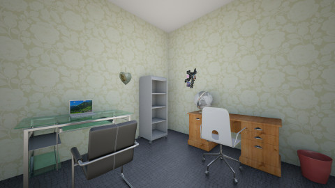 study here - Classic - Office  - by Saeda Agongo