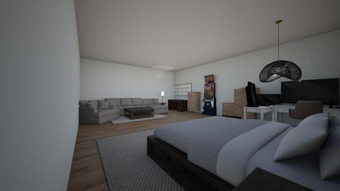 Man cave - Bedroom  - by Carb1ne