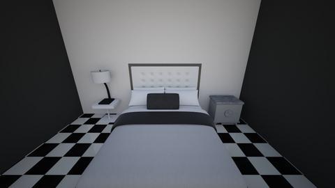 Guest Room 1 - Modern - Bedroom  - by Bunnykat124