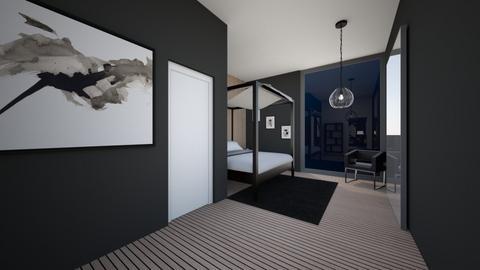 Modern House Guestroom  - Modern - Bedroom  - by Callmekai22