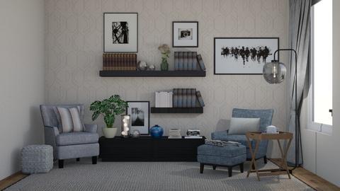reading corner - Living room  - by lpkinteriordesigns