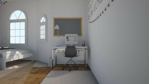 Big room - Bedroom - by aimeebrookes_