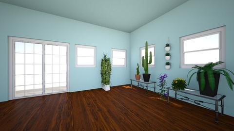 Green House Garden 1  - Modern - Garden  - by PiggyLover316