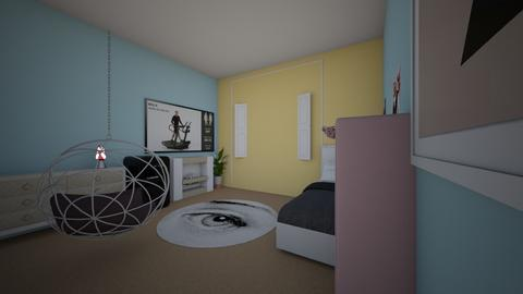 design project - Bedroom  - by Mialynn2735