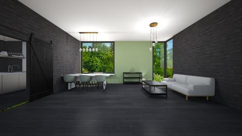 Room for Meghan White - Living room  - by Noa Jones