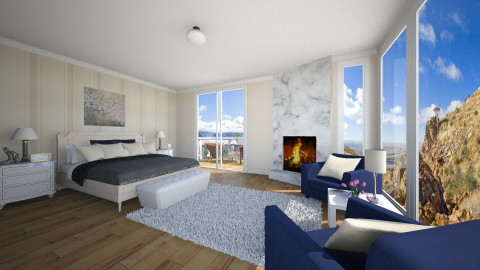 Quarto - Classic - Bedroom  - by Brunalimaporfirio