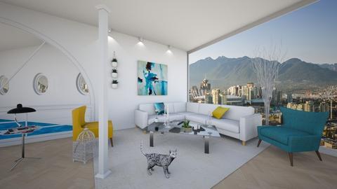 Columns Living Room 6 - Minimal - Living room  - by yaizalloriginal