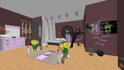 poop - Retro - Bedroom  - by karaleigh