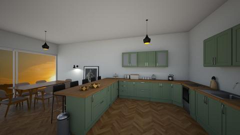 kitchen - by BessieG