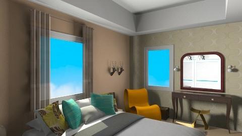 my bedroom6 - Retro - Bedroom  - by orlyme