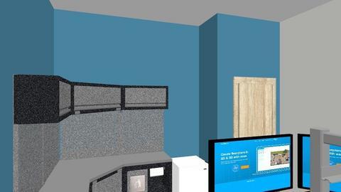 Erics office - Modern - Office  - by damed