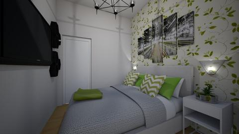habitacion eskalantegui - Bedroom - by martaglop