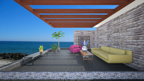 piha - Living room - by annikas