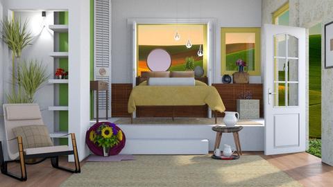 Summer Stowaway  - Modern - Bedroom  - by Gurns