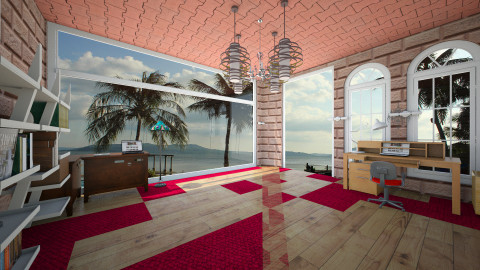 Sea Panorama - Vintage - Office  - by sabirin12