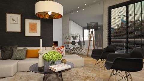 MirrorMirror LLiving - Living room  - by MiaM