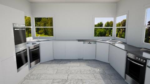 render test - Modern - Kitchen  - by Bibiche