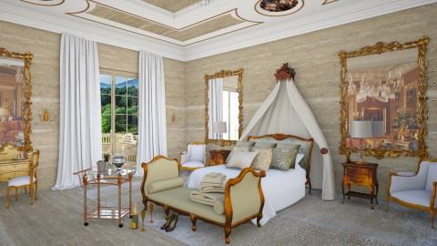 Gilt - Glamour - Bedroom  - by Kathran