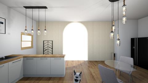 AV Kitchen design - Kitchen  - by vasquezam